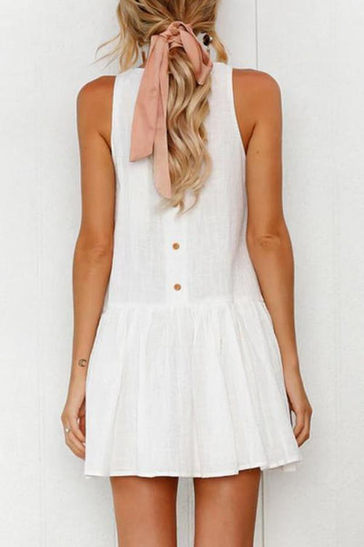 Isa Bohemian Mini Dress