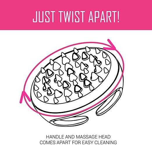 Anti-Cellulite Brush Massage