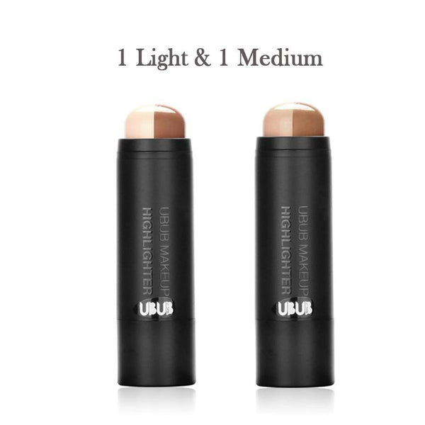 Dual Highlighter & Contouring Mineral Stick
