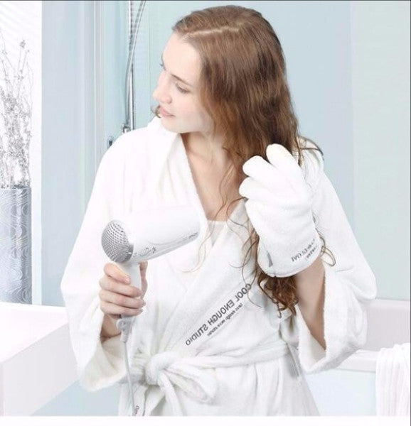 Hair Drying Gloves