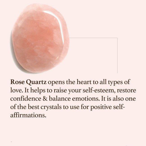 Rose Quartz Massage Roller