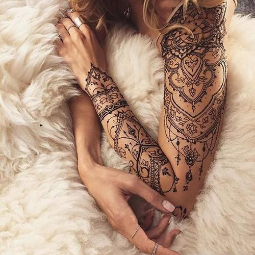Tribal Henna Tattoo (3 PCS)