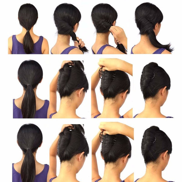 Multi-Functional Chic Bun-Braid Hairstyle Maker
