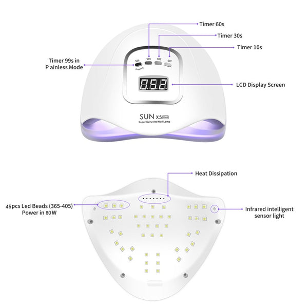 LED Nail Lamp-Dryer