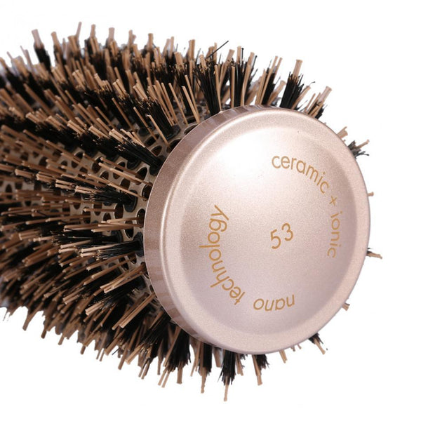 Ceramic Round Brush Hair Comb