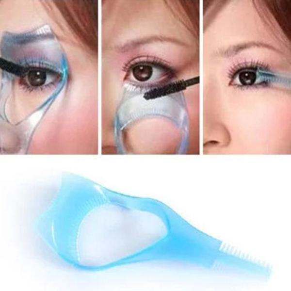 3 in 1 Mascara Eyelash Applicator Guide