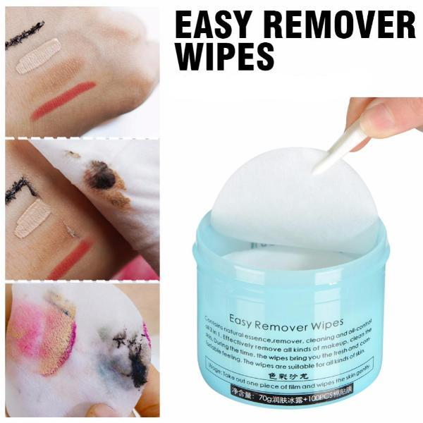 Instant Makeup Remover Pads