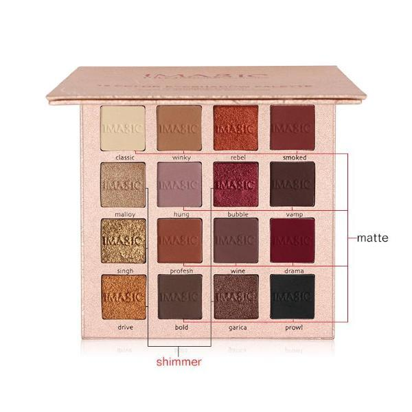Magic Matte Eyeshadow Palette