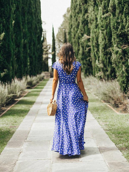 Dulce Dotted Summer Dress