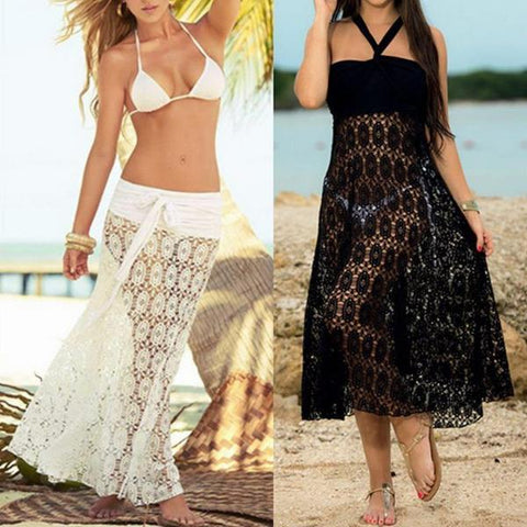 2-Way Lace Bikini Cover-up