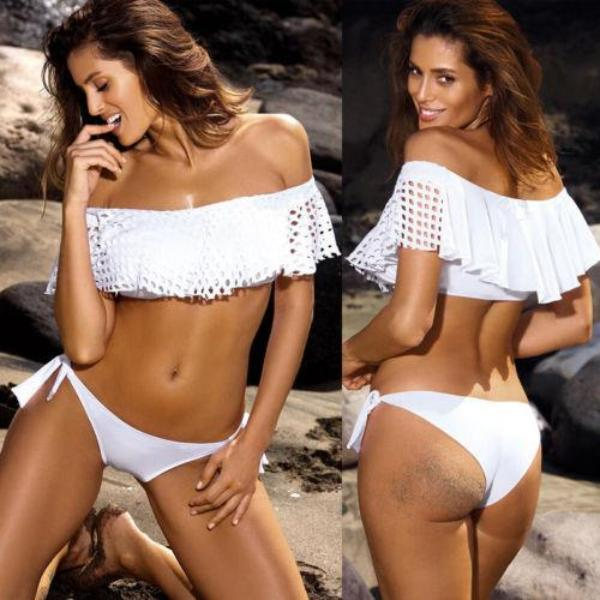 Tanya Off-Shoulder Bikini Set