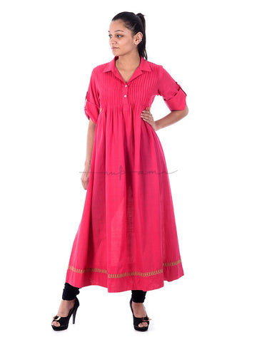 Eclectic Hobo Kurta in Solid Colours