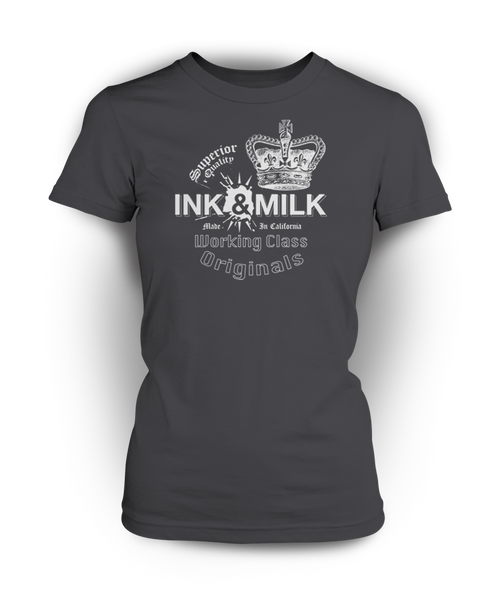 Ink & Milk Brand Stamp Invert Women's T-Shirt