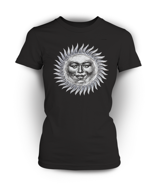 Black sun Women's T-Shirt