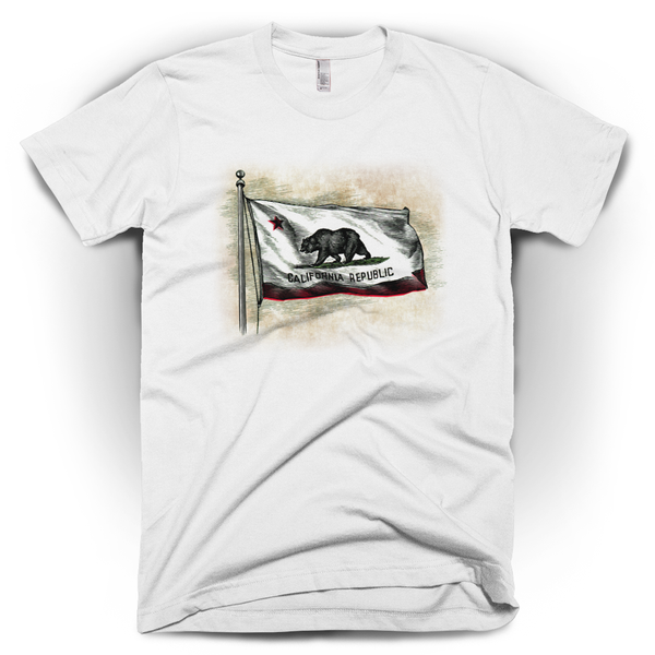 California Flag Men's T-Shirt