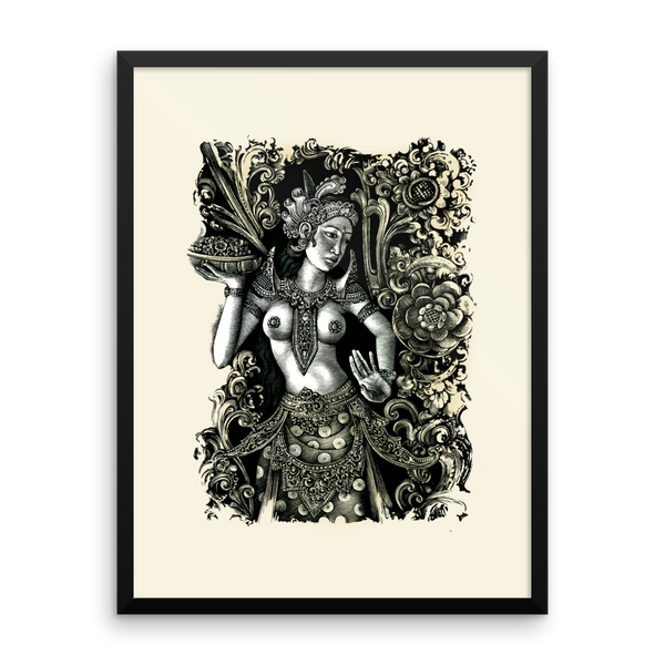 Bali Dancer Framed Art Print