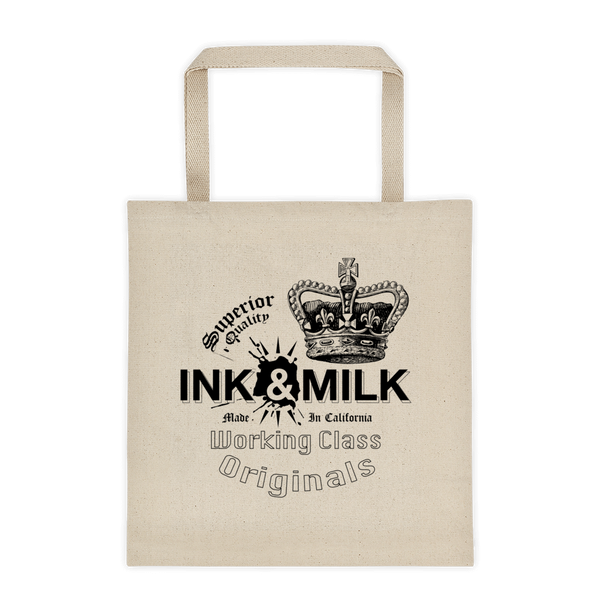 Ink & Milk Brand Tote Bag