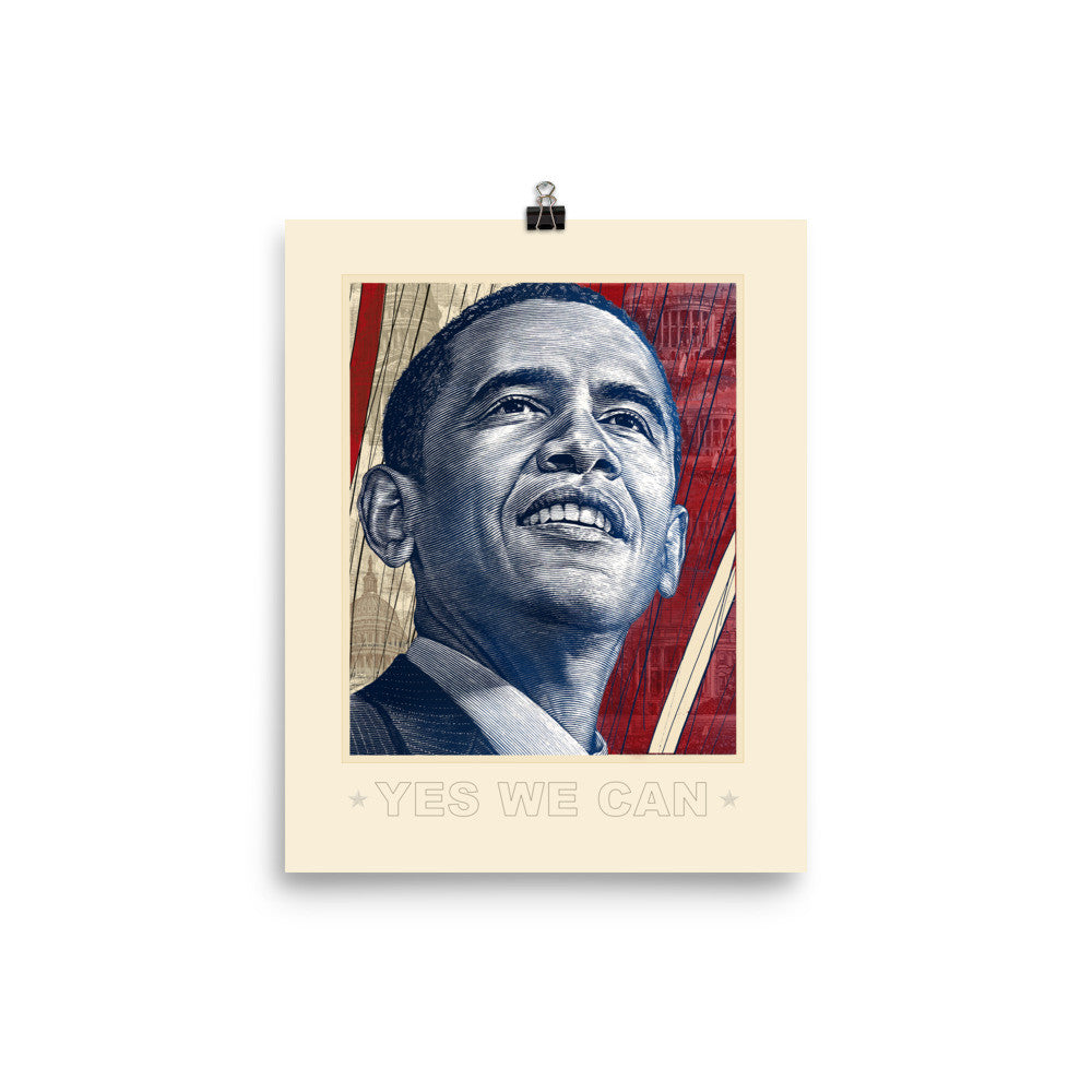 Obama Commemorative Art Print