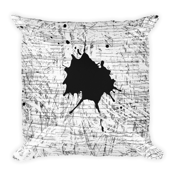 Ink Splash Pillow