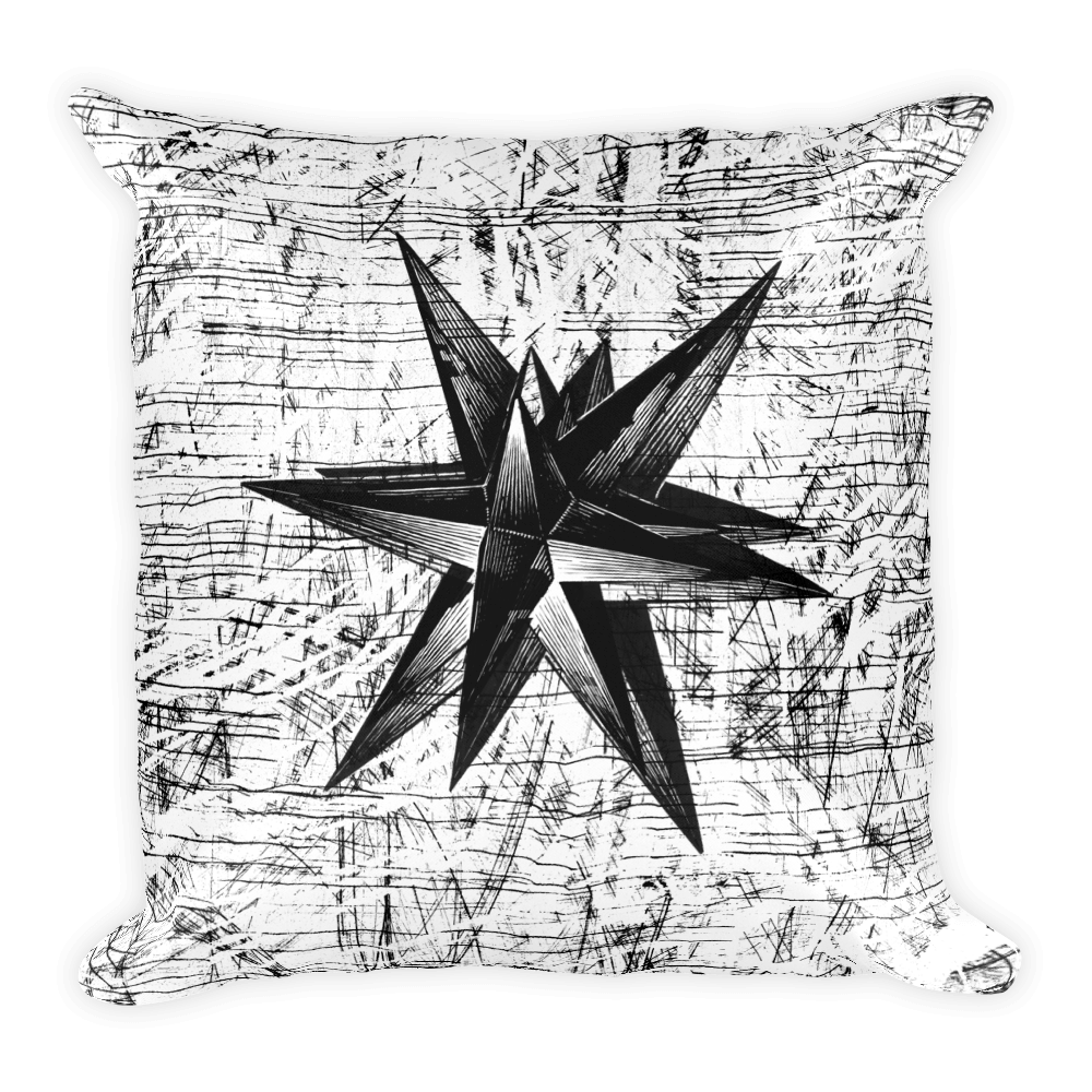 Ink Star Pillow