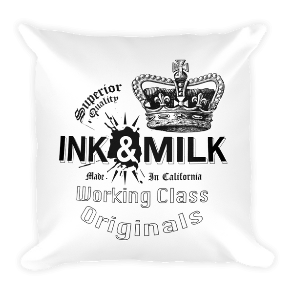 Ink & Milk Brand Pillow