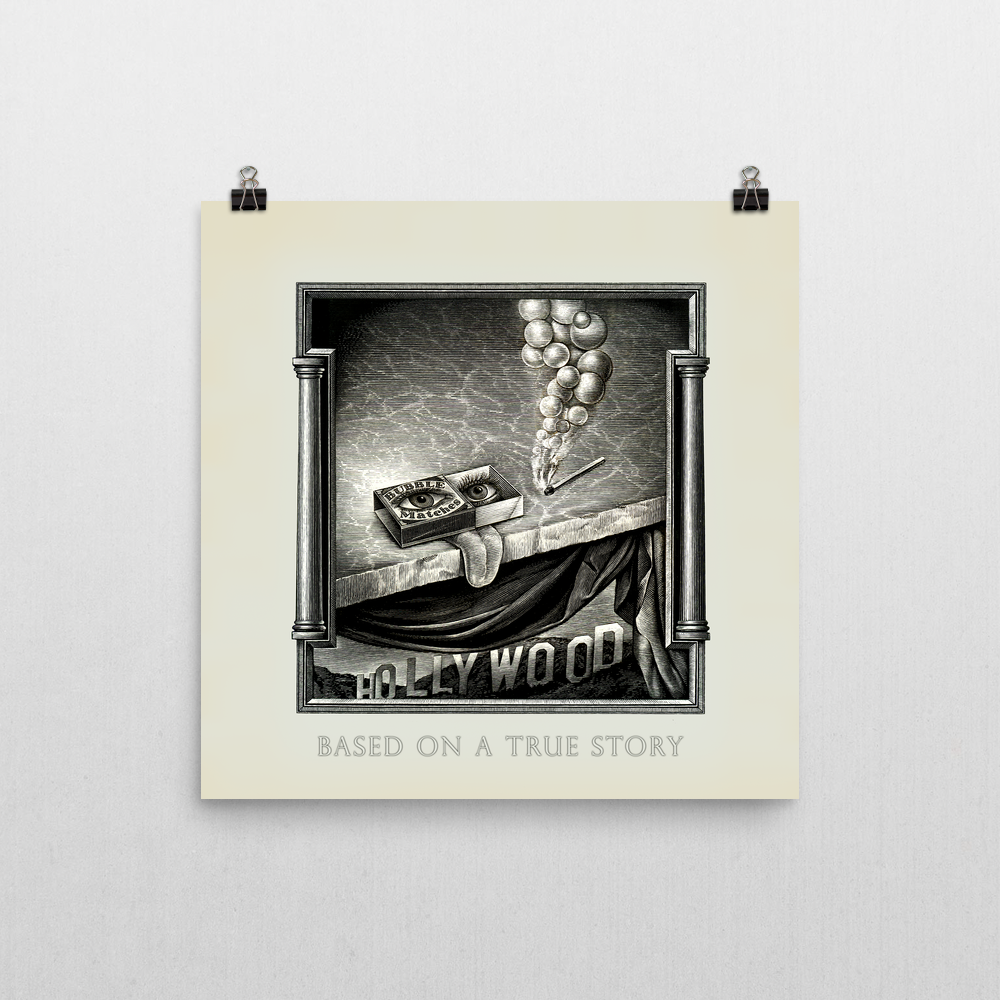 Based On A True Story Unframed Art Print