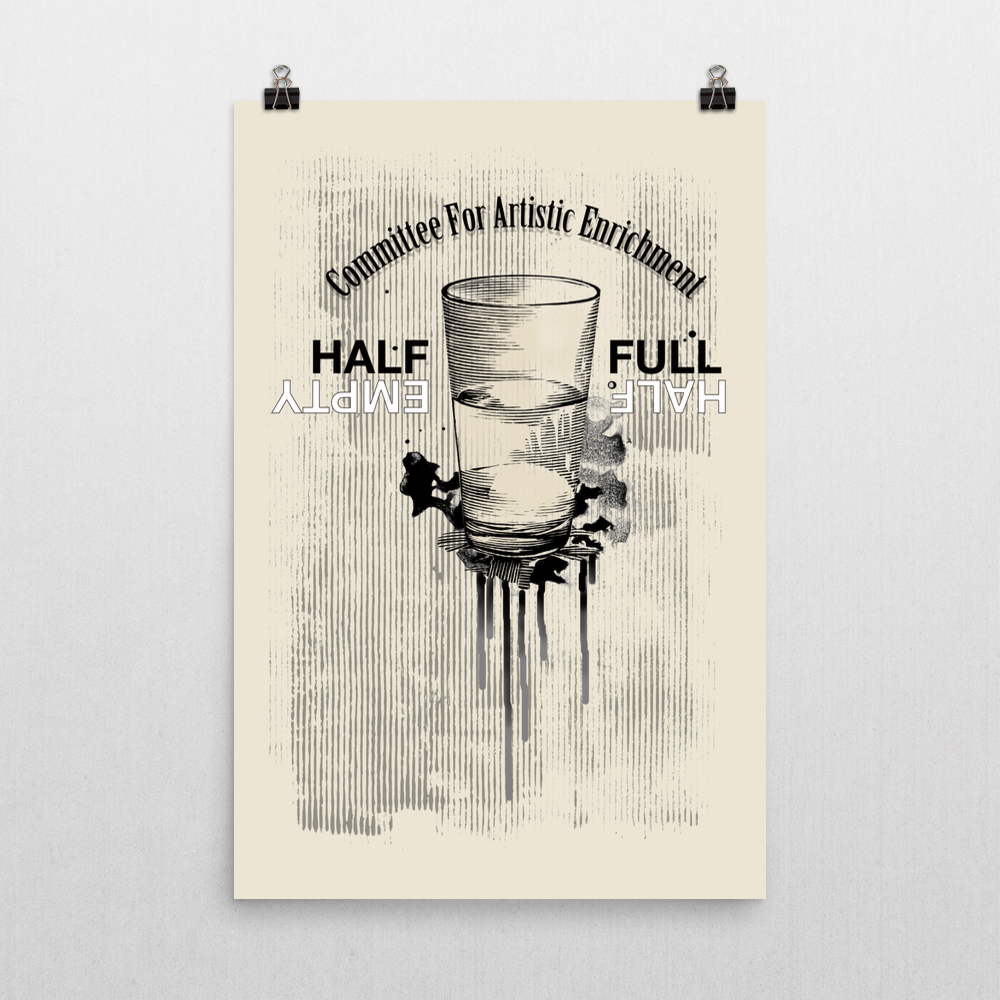 Half and Half Unframed Art Print