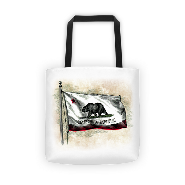 California Flag Tote Bag