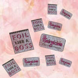Pin Me - Foil Like a Boss Lapel Pin - complimentary shipping!
