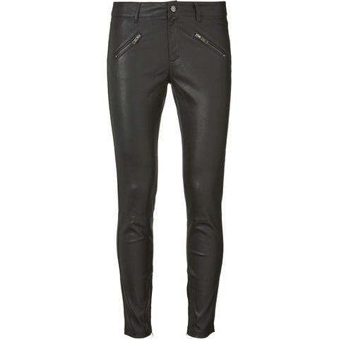 IVY Copenhagen Taylor leather pant Jeans & Pants 9 Black