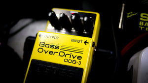 BOSS ODB-3 BASS OVERDRIVE PEDAL | Zoso Music