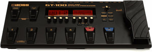 BOSS GT-100 GUITAR EFFECT PROCESSOR | Zoso Music