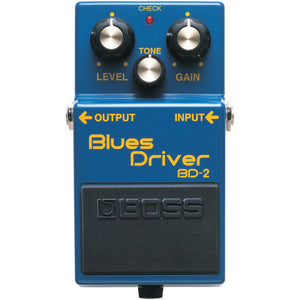 BOSS BD-2 BLUES DRIVER PEDAL | Zoso Music