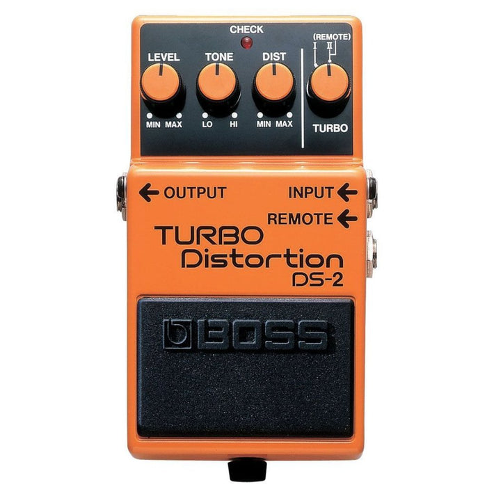 BOSS DS-2 TURBO DISTORTION PEDAL (DS2)