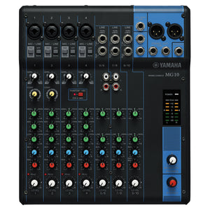 YAMAHA MG SERIES MG10 MIXING CONSOLE | Zoso Music