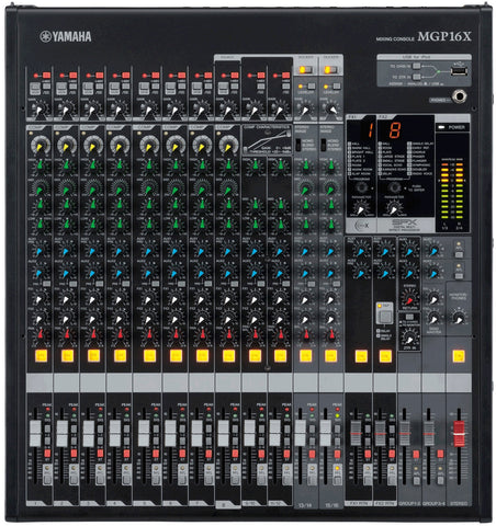 YAMAHA MGP16X 16-CHANNEL ANALOG MIXER | Zoso Music