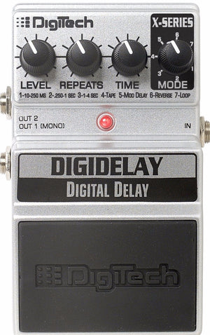 DIGITECH X SERIES DIGITAL DELAY PEDAL | Zoso Music