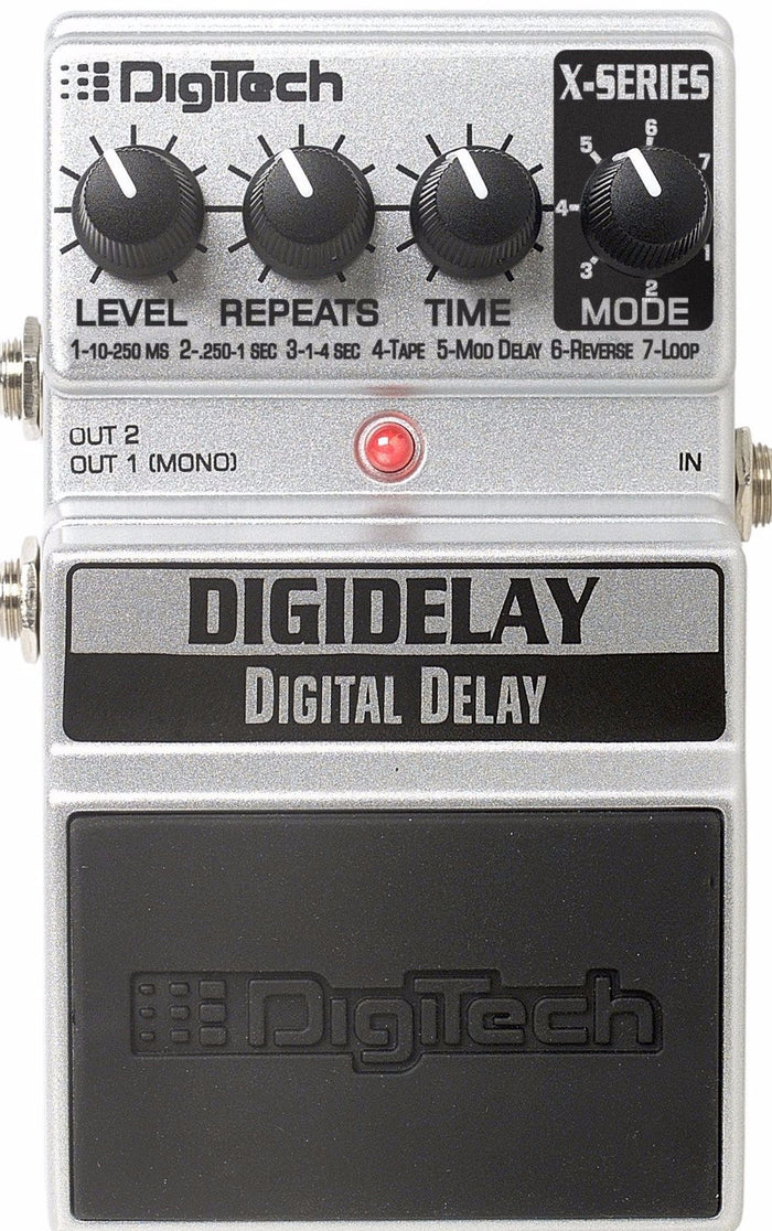 DIGITECH X SERIES DIGITAL DELAY PEDAL
