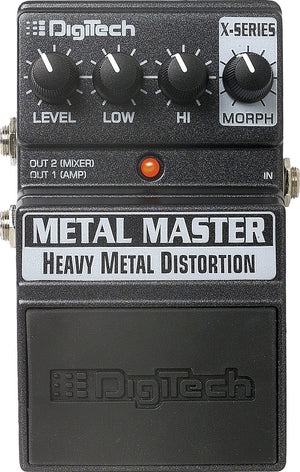 DIGITECH X SERIES METAL MASTER PEDAL | Zoso Music