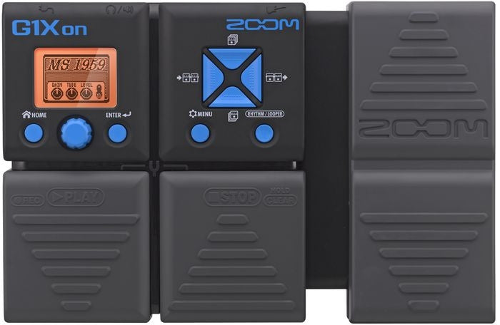 ZOOM G1XON GUITAR MULTI-EFFECTS WITH EXPRESSION PEDAL | Zoso Music