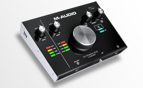 M-AUDIO M-TRACK 2X2 TWO CHANNEL USB INTERFACE WITH 24-BIT/192KHZ RESOLUTION | Zoso Music