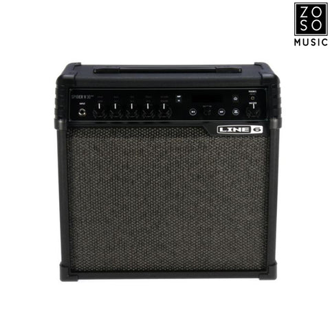 LINE 6 SPIDER V 30 MK II - 30W COMBO AMPLIFIERS | Zoso Music