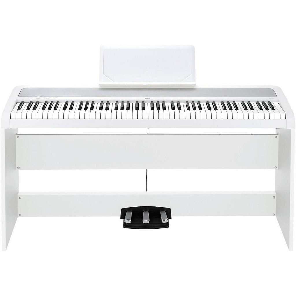 KORG B1SP WITH STAND, WHITE | Zoso Music