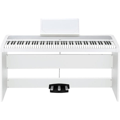 KORG B1SP WITH STAND, WHITE