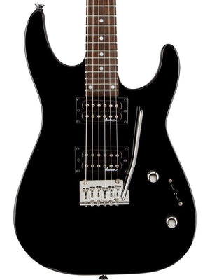 JACKSON JS12 DINKY ELECTRIC GUITAR, GLOSS BLACK | Zoso Music