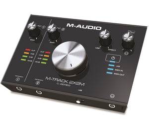 M-AUDIO M-TRACK 2X2M C-SERIES | 2-IN/2-OUT USB AUDIO INTERFACE WITH MIDI (24-BIT/192KHZ) | Zoso Music