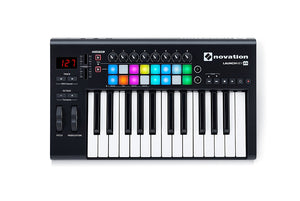 NOVATION LAUNCHKEY 25 USB KEYBOARD CONTROLLER FOR ABLETON LIVE, 25-NOTE MK2 VERSION | Zoso Music