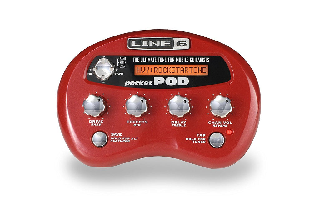 Line 6 POCKET POD GUITAR AMP EMULATOR | Zoso Music