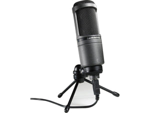 AUDIO TECHNICA AT2020 USB+ USB CARDIOID CONDENSER MICROPHONE | Zoso Music