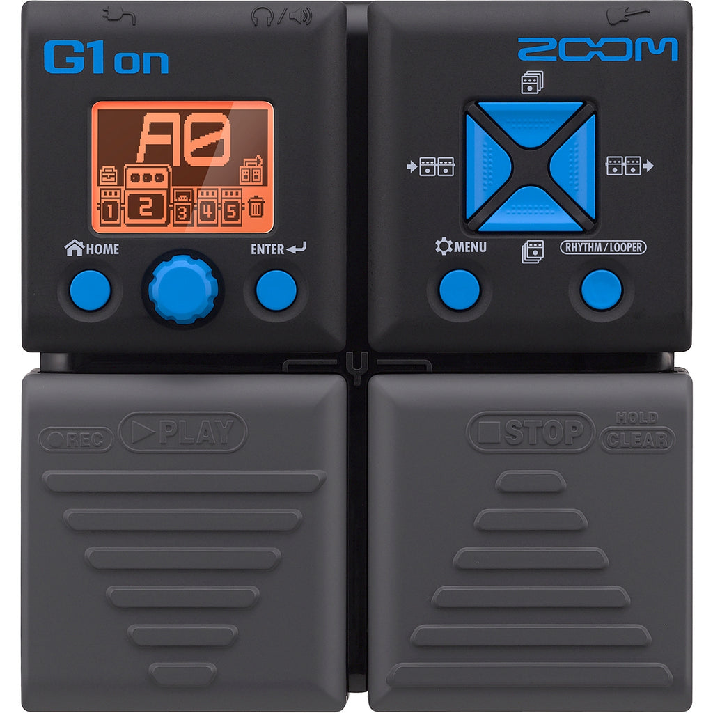 ZOOM G1ON GUITAR MULTI-EFFECTS PEDAL | Zoso Music